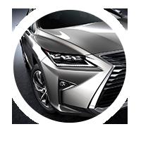 Lexus RX 450h Hybrid LED ajovalot