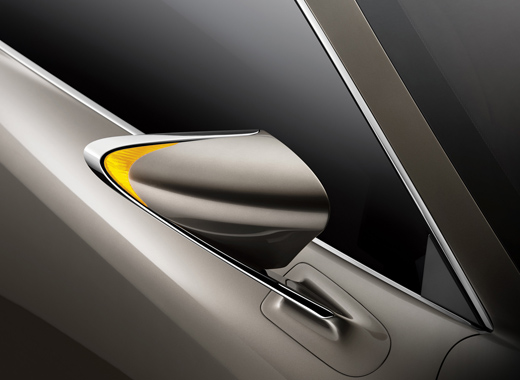 Lexus LF CC Concept Coupe Side Mirror