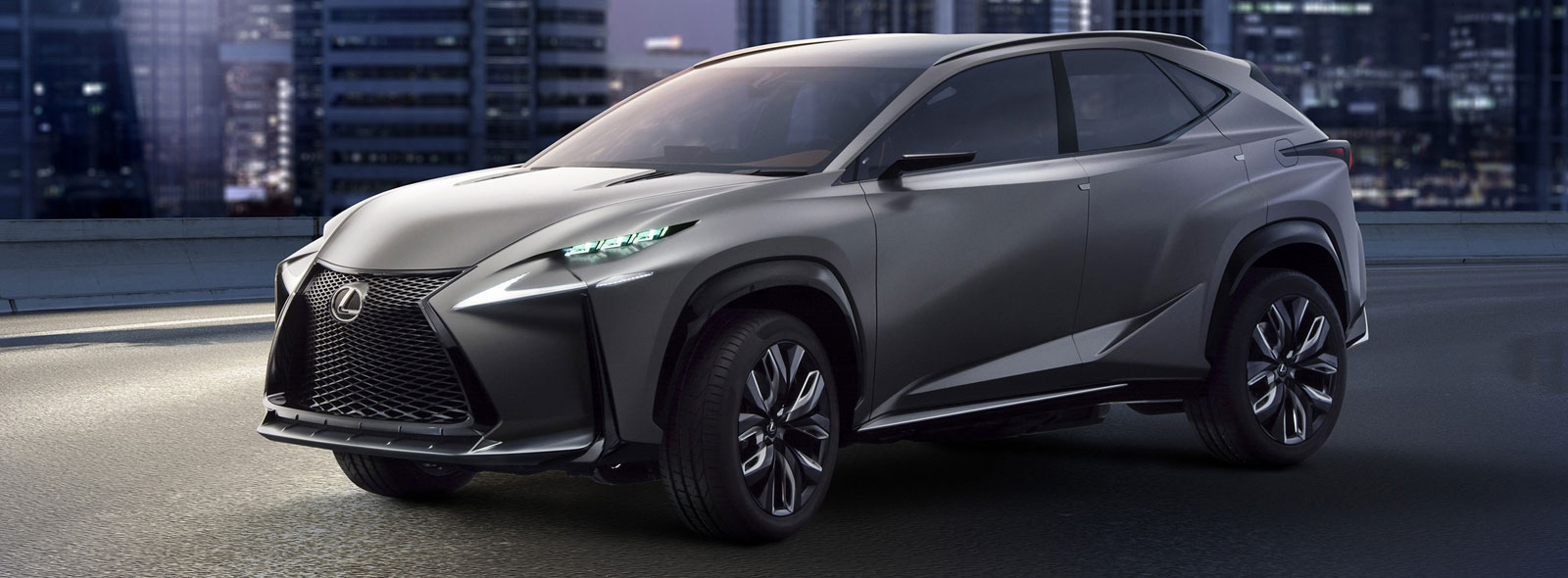 Lexus LF NX Concept Turbo SUV Car
