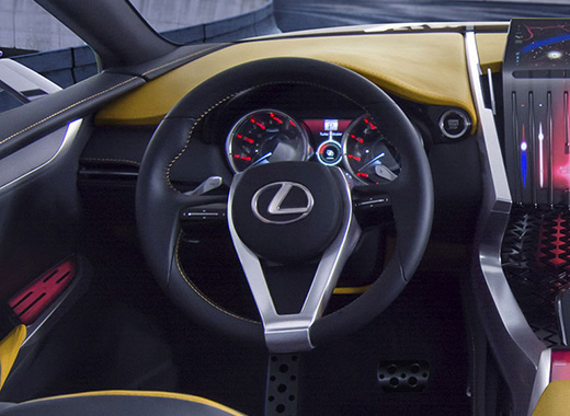 Lexus LF NX Steering Wheel