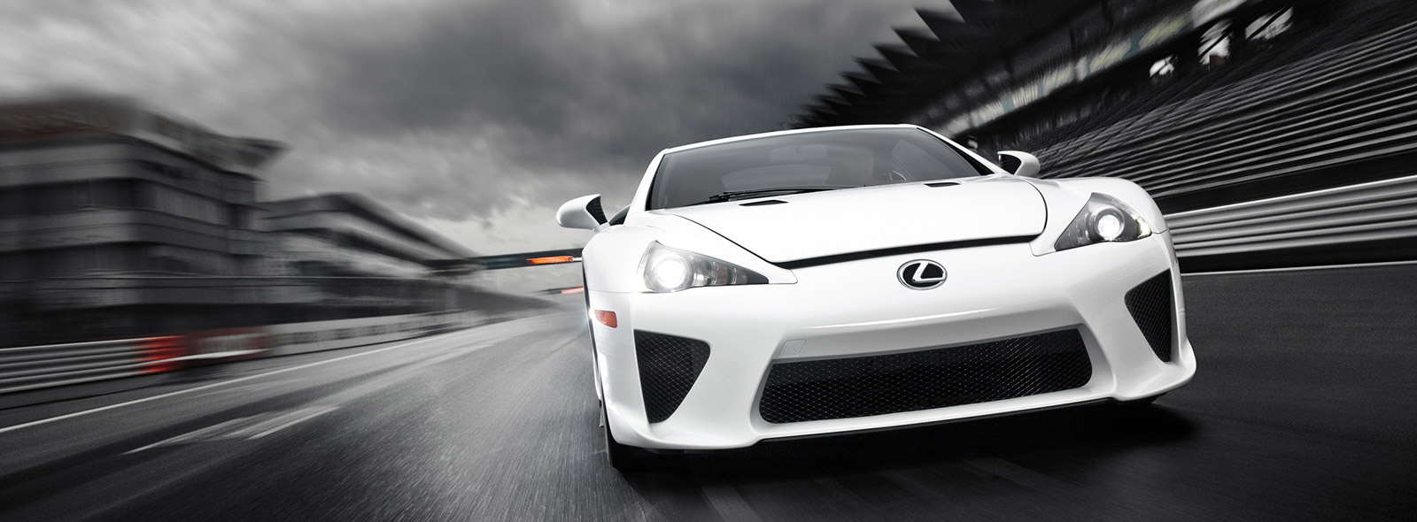 Lexus LFA Supercar White