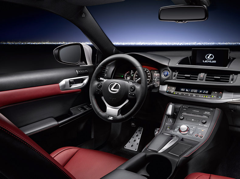 Lexus Ct Luxury Hybrid Hatchback Car Lexus Uk