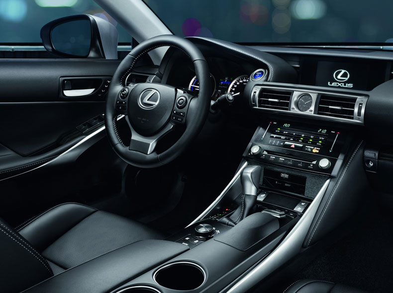 lexus is 300h hybrid saloon car lexus uk. Black Bedroom Furniture Sets. Home Design Ideas