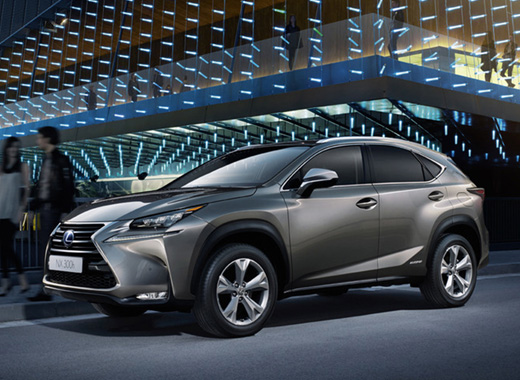 Lexus NX 300h Mercury Grey