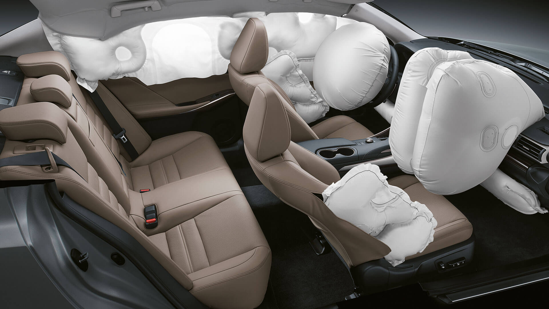 2017 lexus is 300h features airbags