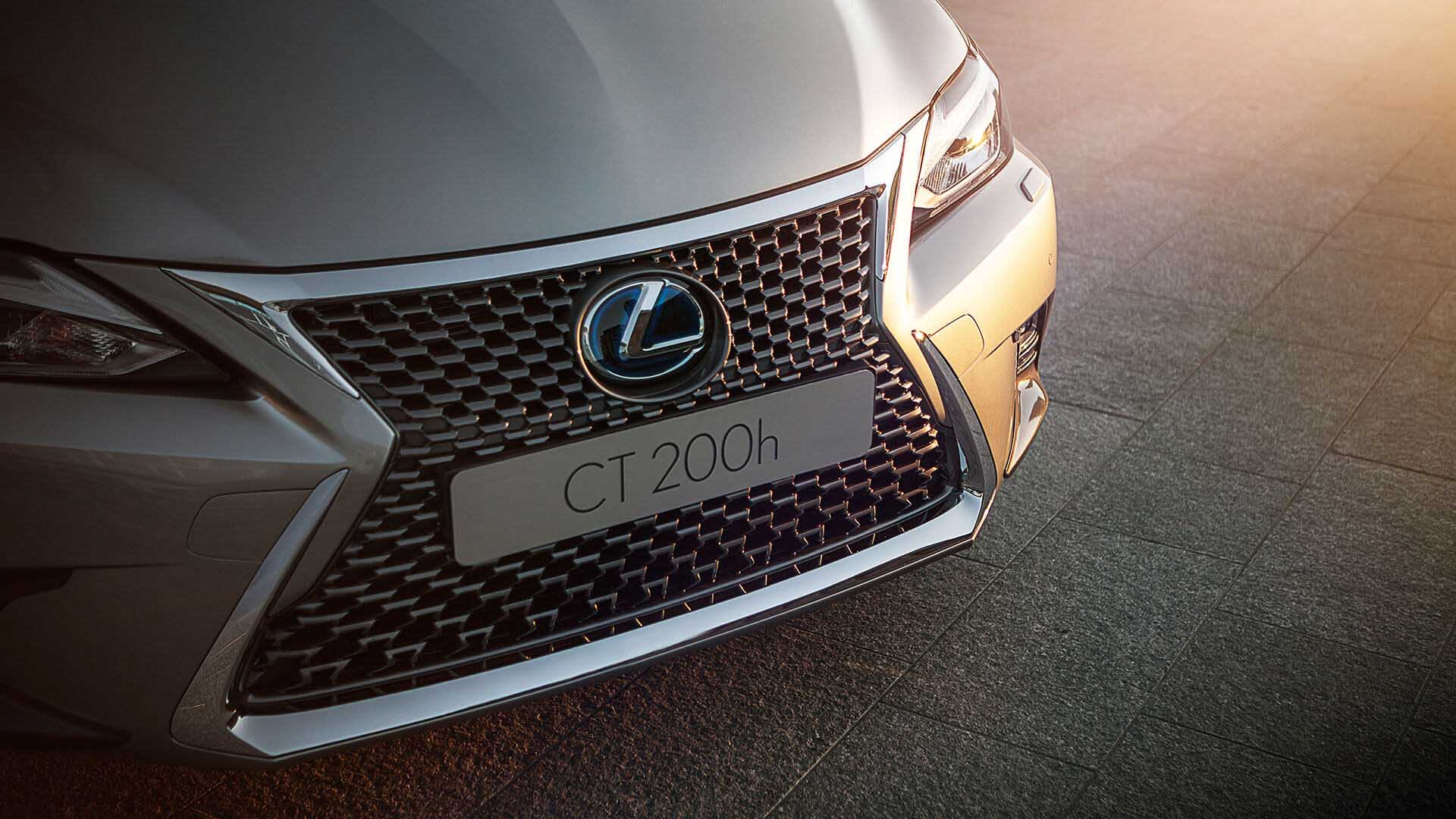2018 lexus ct 200h my18 features spindle grille