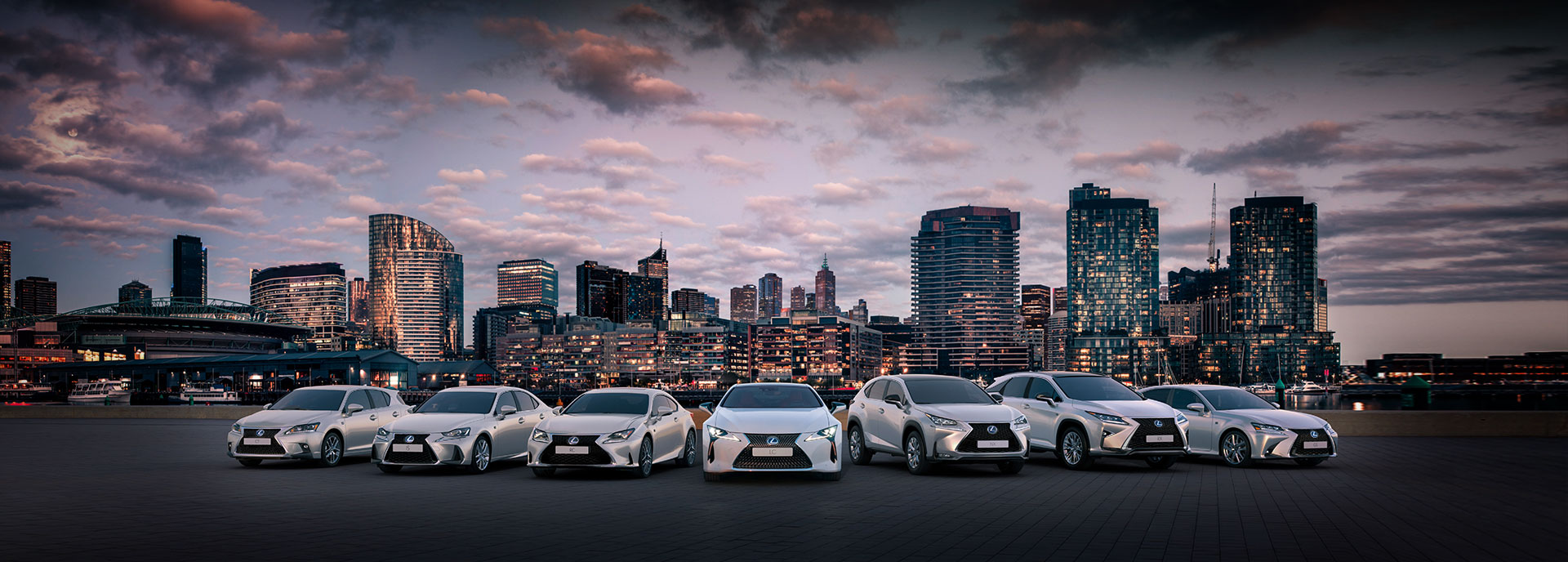 the lexus range