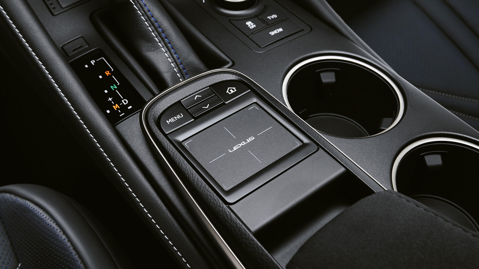 2017 lexus rc f features touch pad control