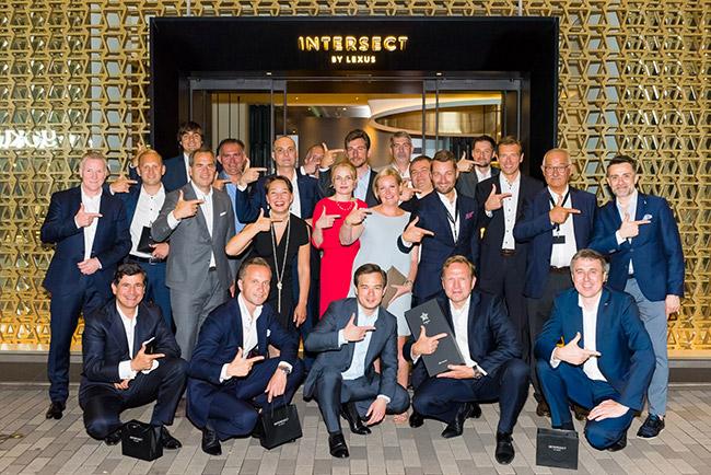 I 10 concessionari Lexus vincitori del Kiwami Award 2017 per l'eccellenza nella Customer Experience
