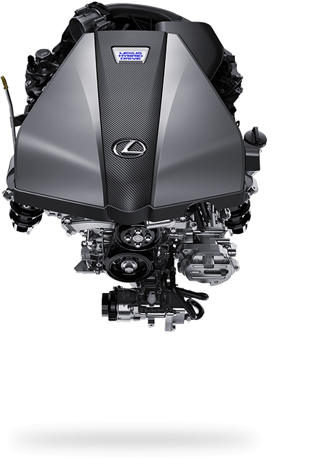 2017 Lexus LC 500h Driving Dynamics Engine