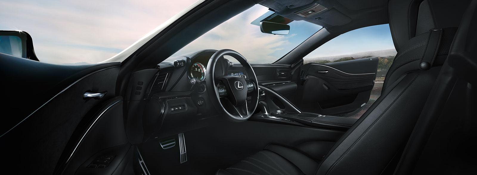 2017 Lexus LC 500h Interior Gallery 004