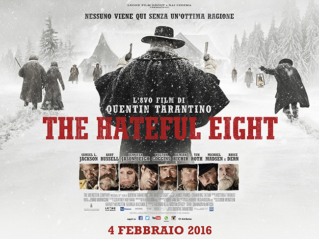 locandina the hateful eight high