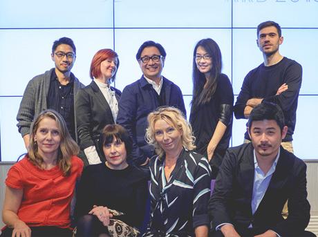 Il gruppo dei finalisti del Lexus Design Award 2015