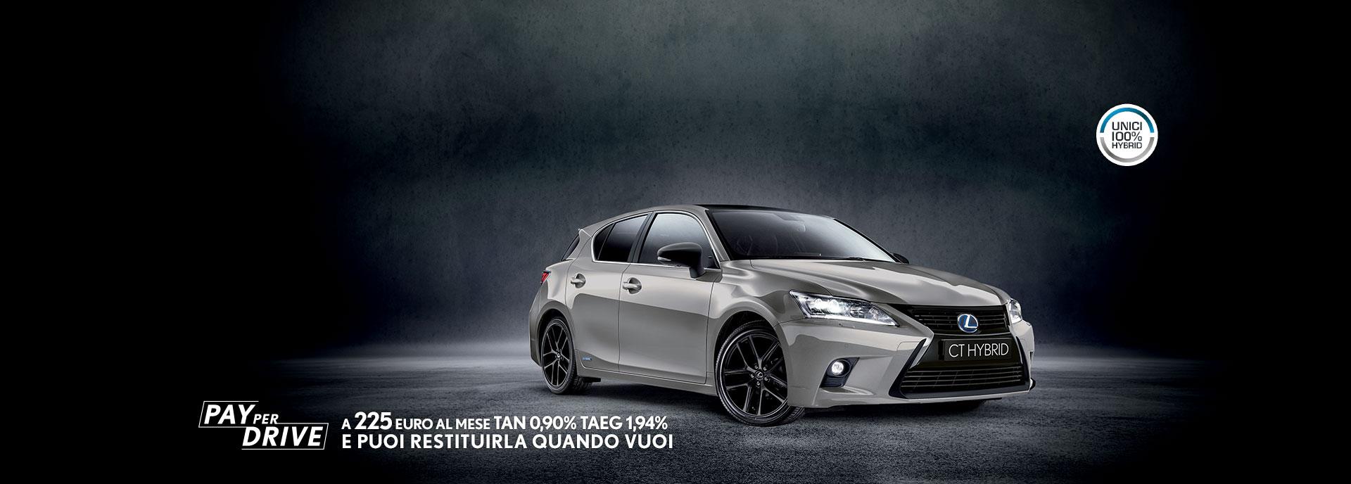 CT Hybrid Black Street colore sonic titanium offerta Pay per Drive