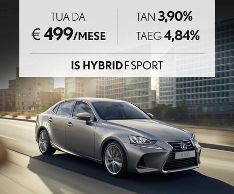 IS Hybrid a 367 euro al mese con offerta Leasing