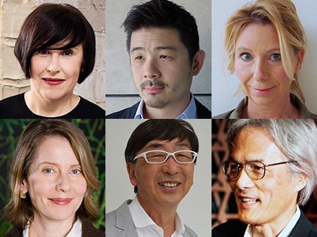 Primo piano dei componenti della giuria del Lexus Design Award 2017