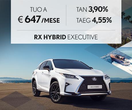 RX Hybrid con offerta Leasing