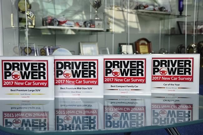 Premio miglior produttore della classifica Driver Power 2017 dominato da Lexus