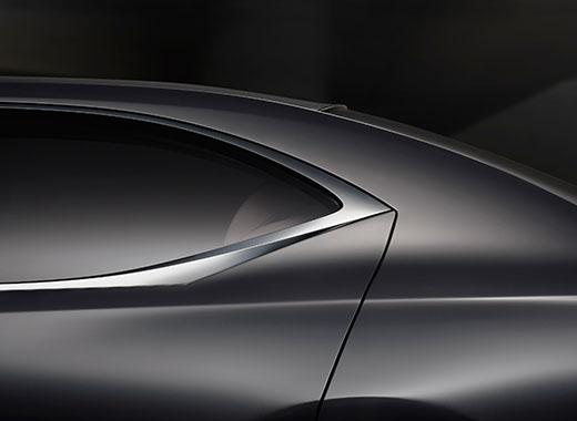 Finestrino posteriore sinistro di LC FC dal design innovativo e dinamico