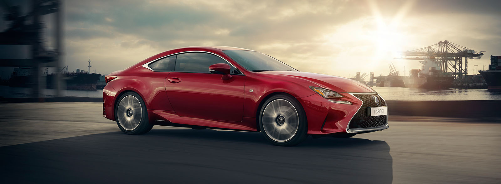 Lexus RC Hybrid Amazing Attraction