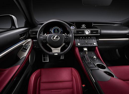 Lexus RC Hybrid F SPORT comfort di guida