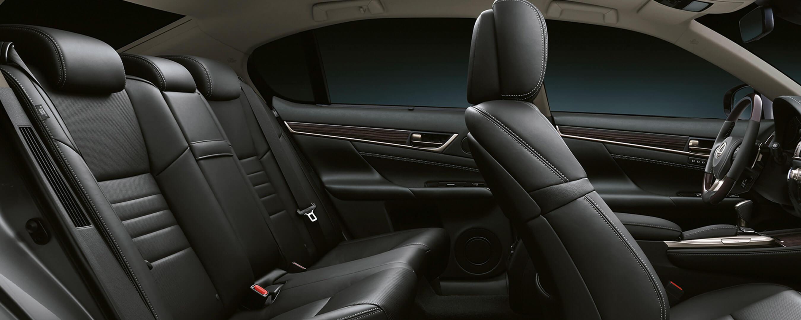 2017 lexus gs 450h experience hero interior back