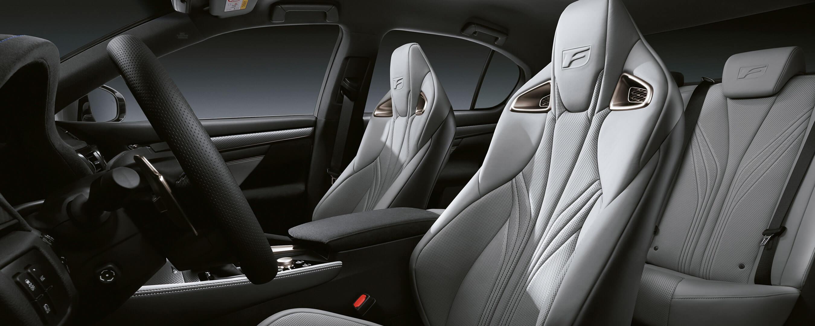 2017 lexus gs f experience hero interior back