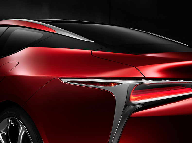 2017 Lexus LC 500 Design Gallery 006