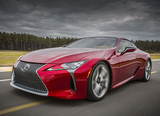 2017 Lexus LC 500 Driving Gallery 004