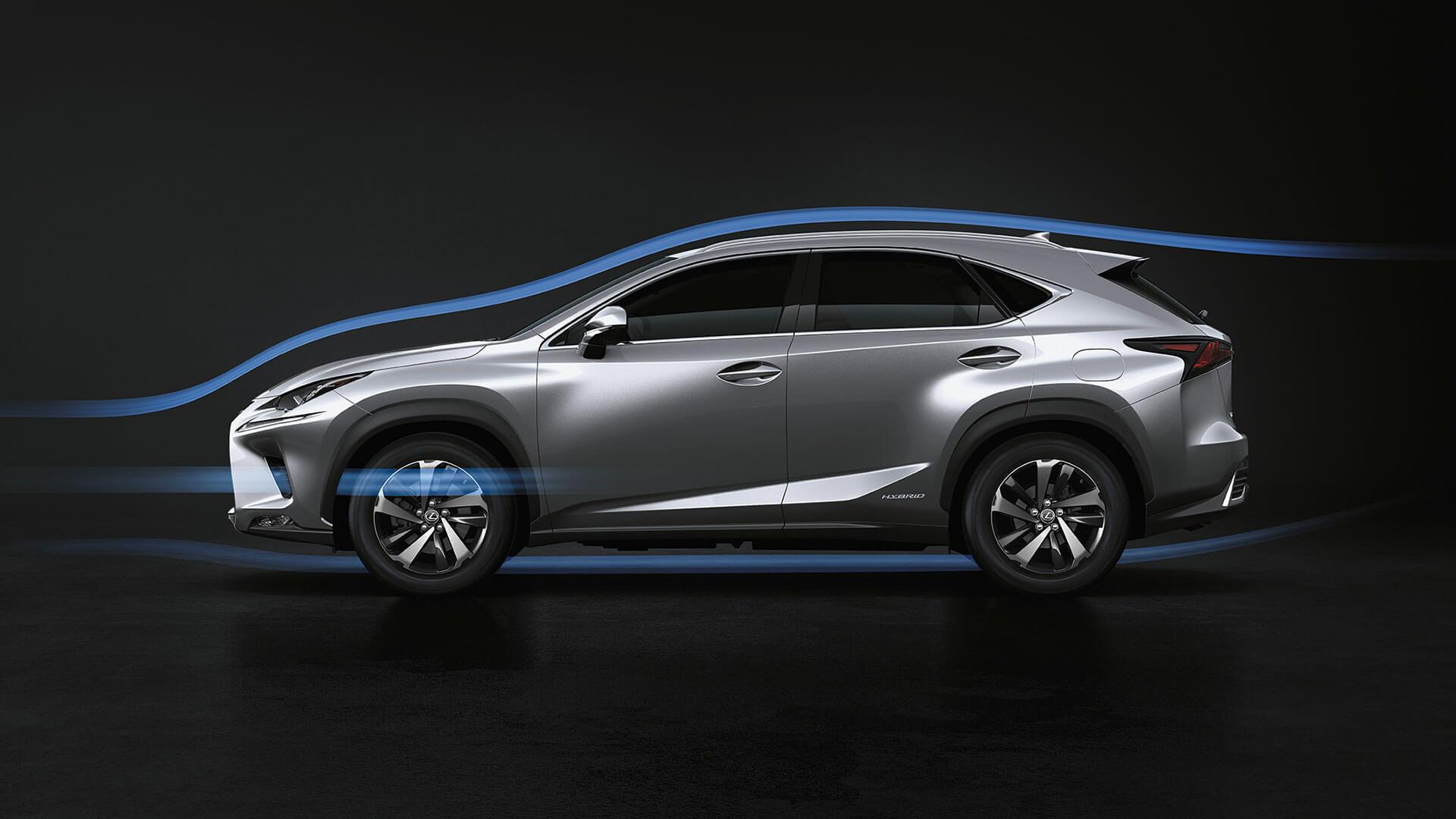 2018 lexus nx my18 features aerodynamics