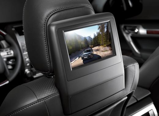 Информационно развлекательная система Lexus GX460 для пассажиров на заднем сиденье
