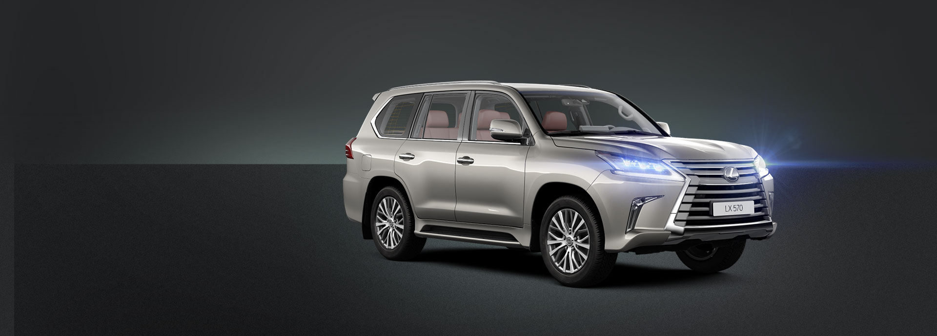 Новый Lexus LX570 внедорожник премиум класса