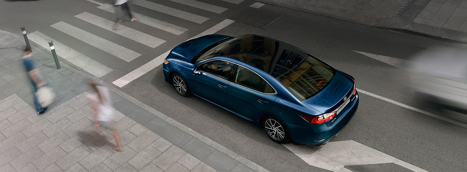 Безопасность вождения нового Lexus ES 250