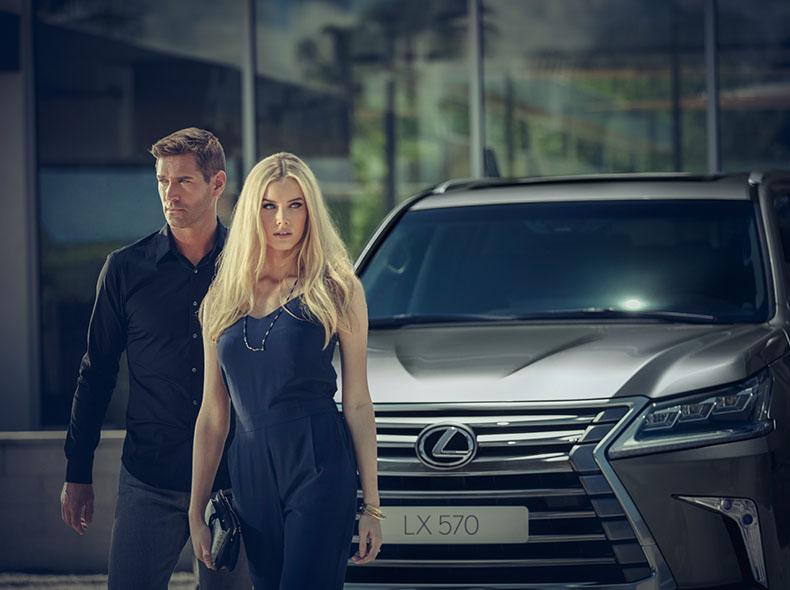 Новый Lexus LX570 внедорожник класса люкс