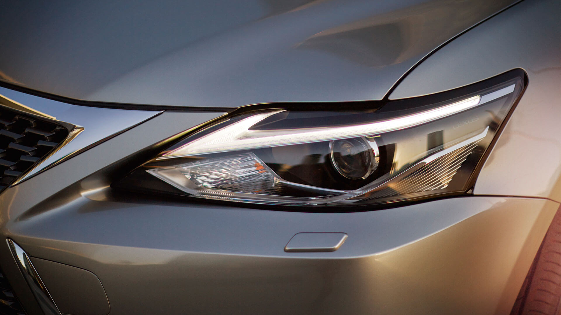 2018 lexus ct 200h my18 features led head lights
