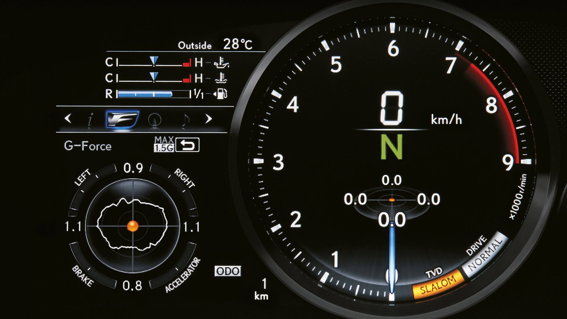 2017 lexus rc f features lfa like instruments