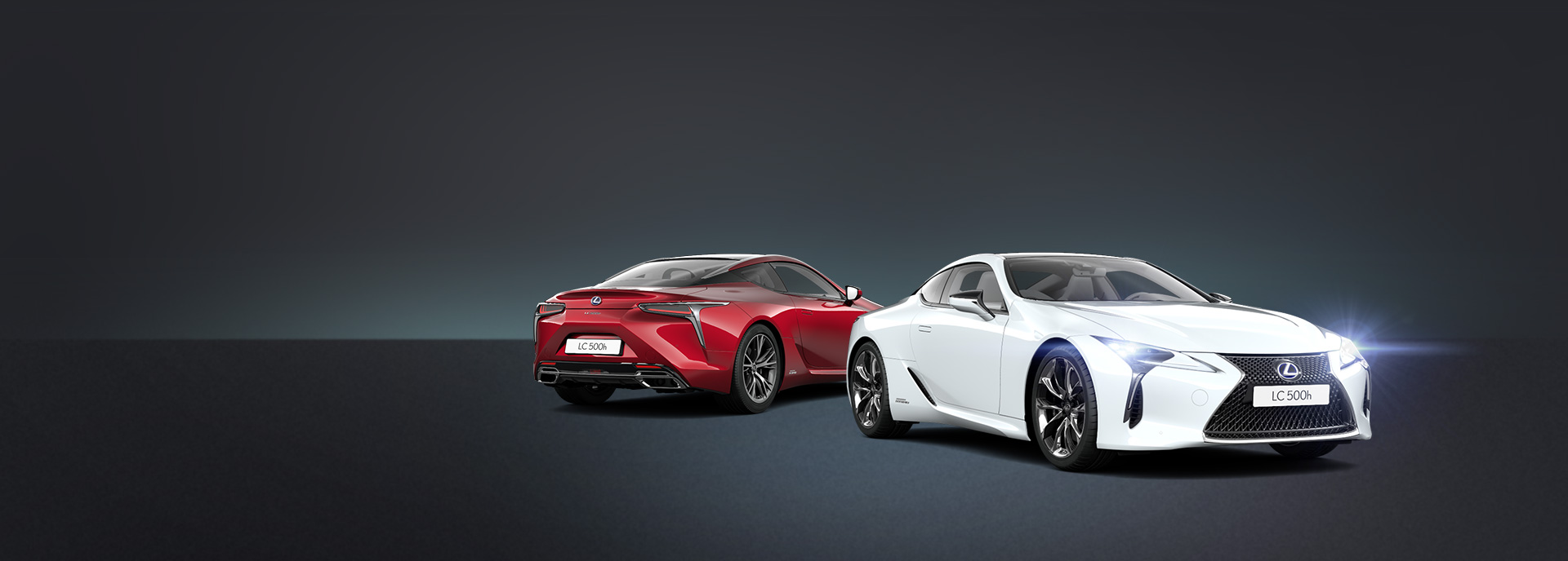 2017 Lexus LC 500h build promo