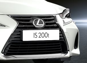 is 200t sport black spindle grille