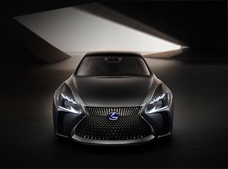 Une voiture concept Lexus LF FC