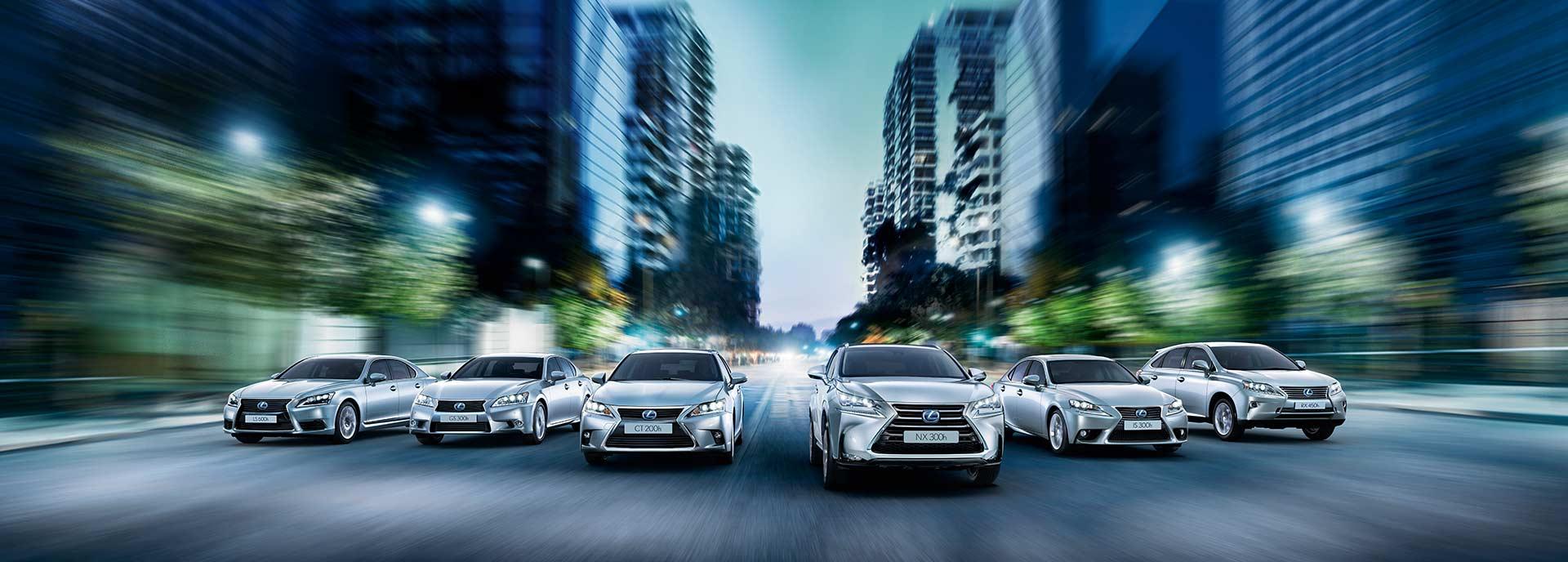 Lexus Business Editions Hero Image