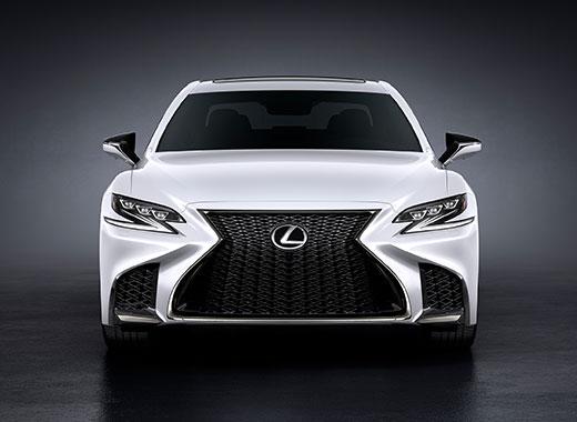 2018 Lexus LS F 06