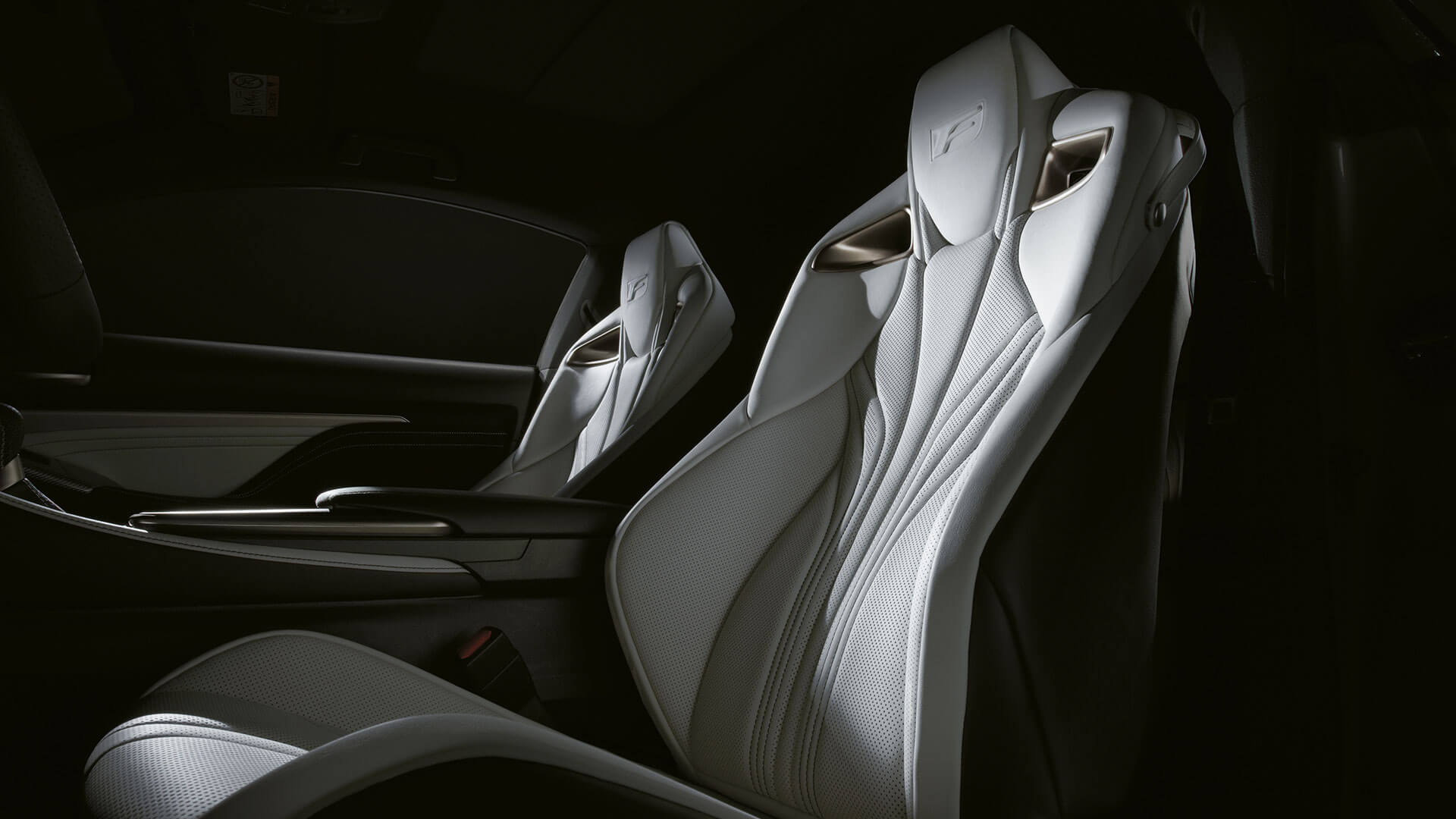2017 lexus rc f features leather sports seats