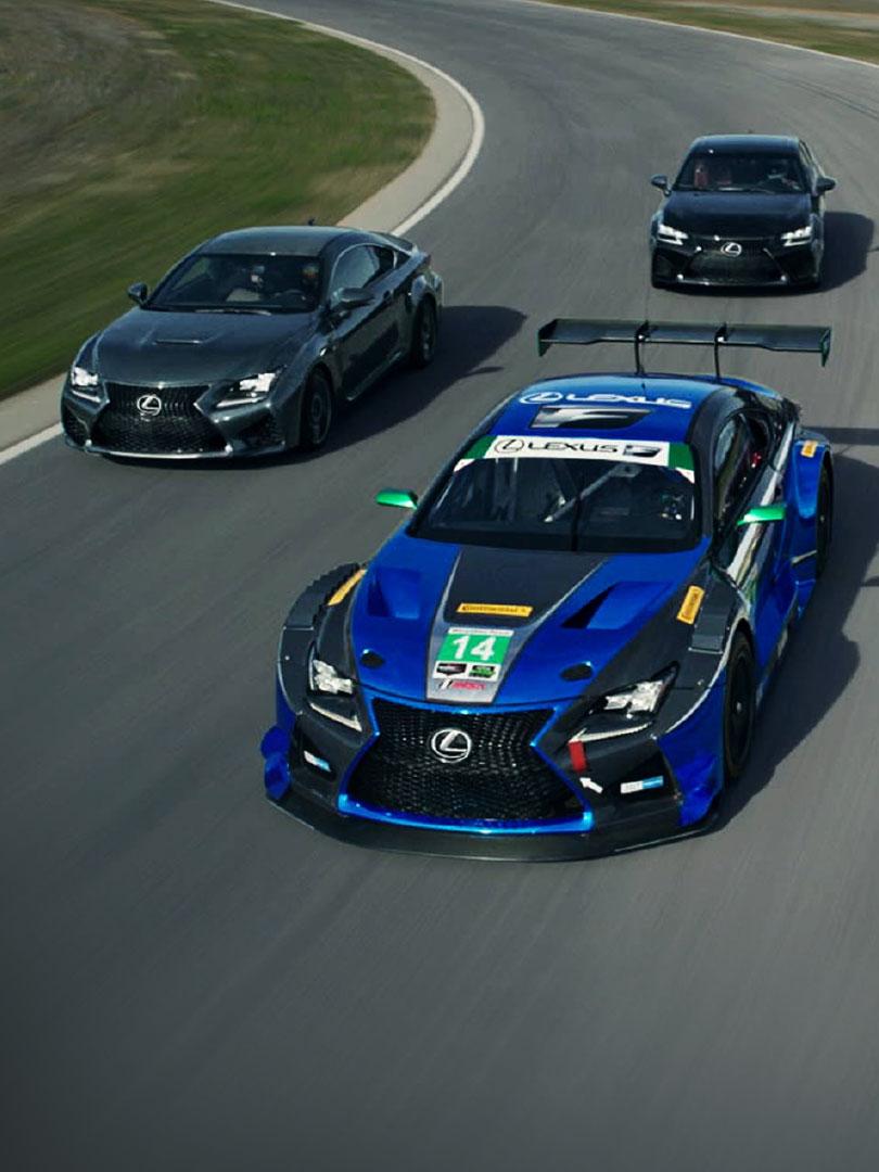 lexus race ready