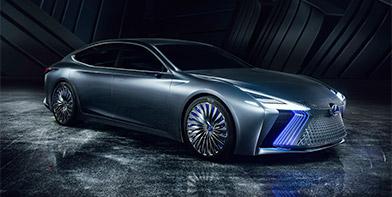 Lexus LS Concept voorbode autonoom rijdende Lexus