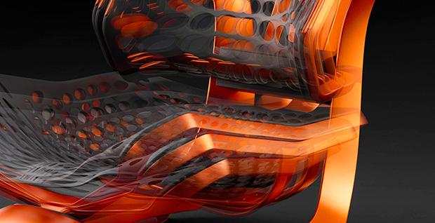 Bewegend beeld van de Lexus Kinetic Seat Concept