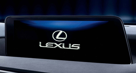 Bluetooth en navigatiesysteem van een Lexus