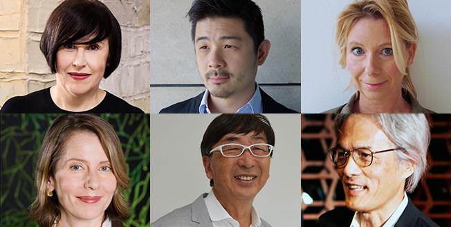 De zes juryleden van de Lexus Design Awards 2017