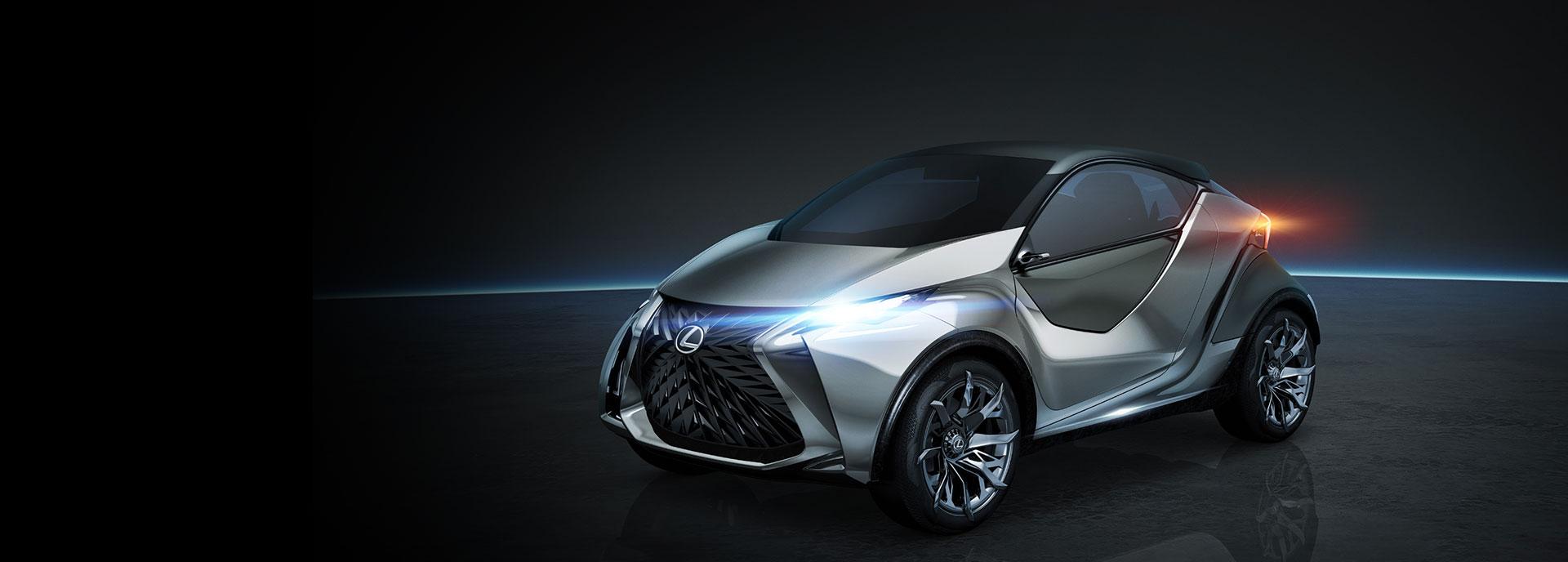 Voor zijaanzicht LF SA Concept Car