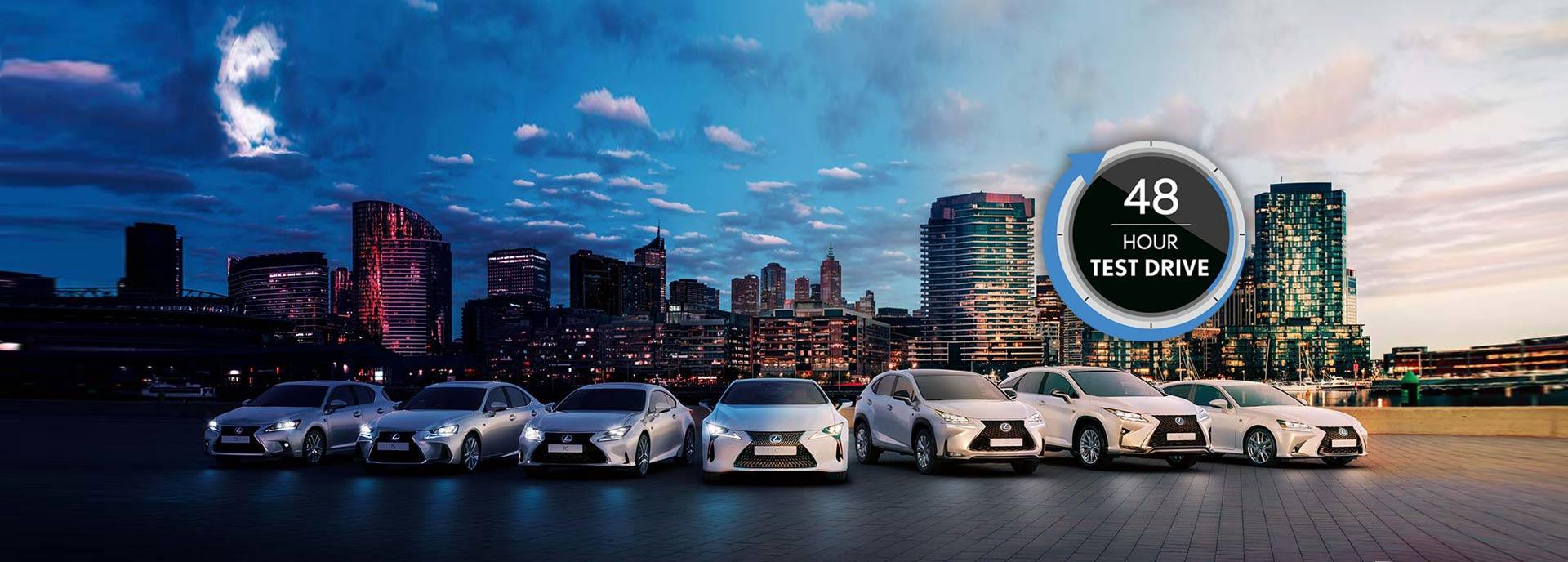 Een overzicht van alle Lexus modellen