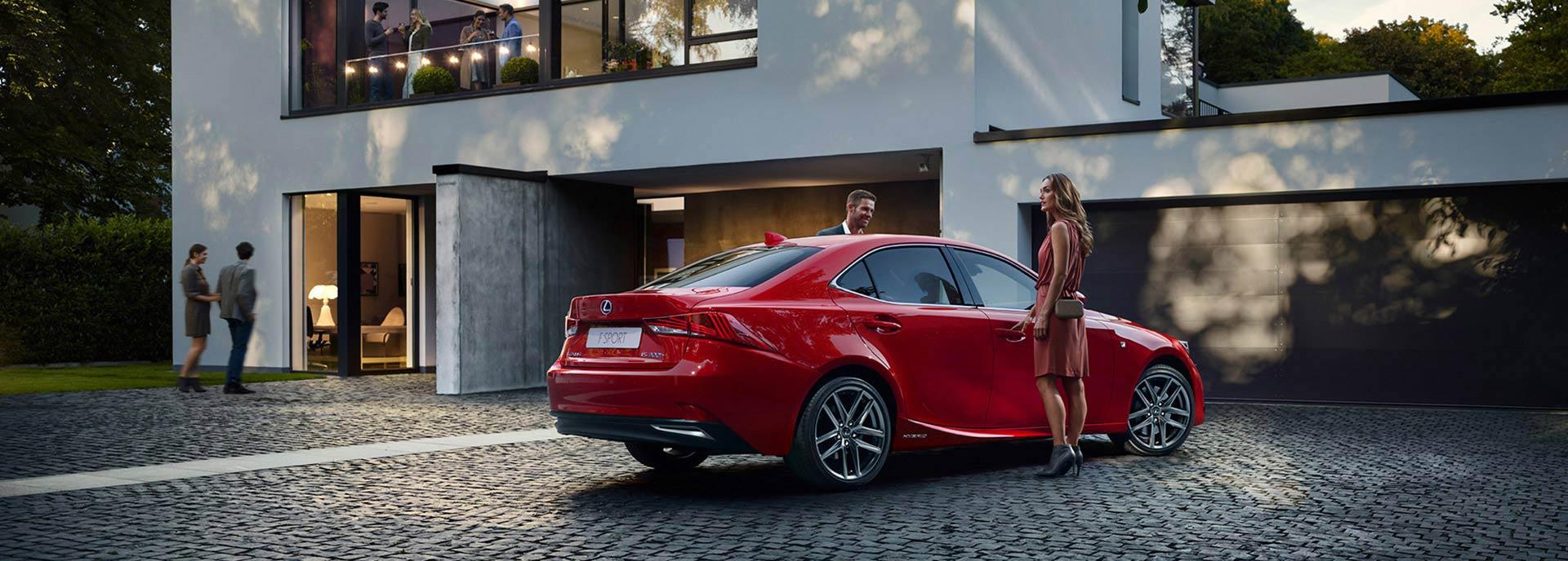 Lexus financiële diensten voor particulieren